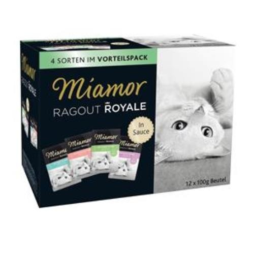 Miamor Ragout Royale Multi Mix in Sauce 12 x 100g