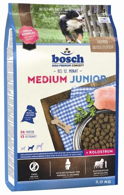 Bosch Junior Medium 3 kg Hundefutter