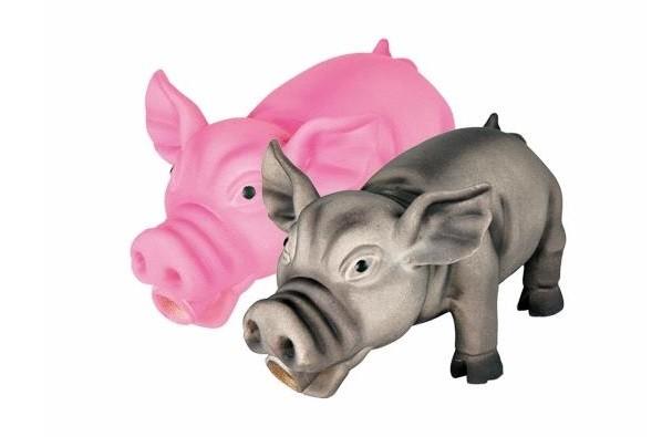 Schwein mit Stimme Latex 32cm Hundespielzeug Trixie 35496