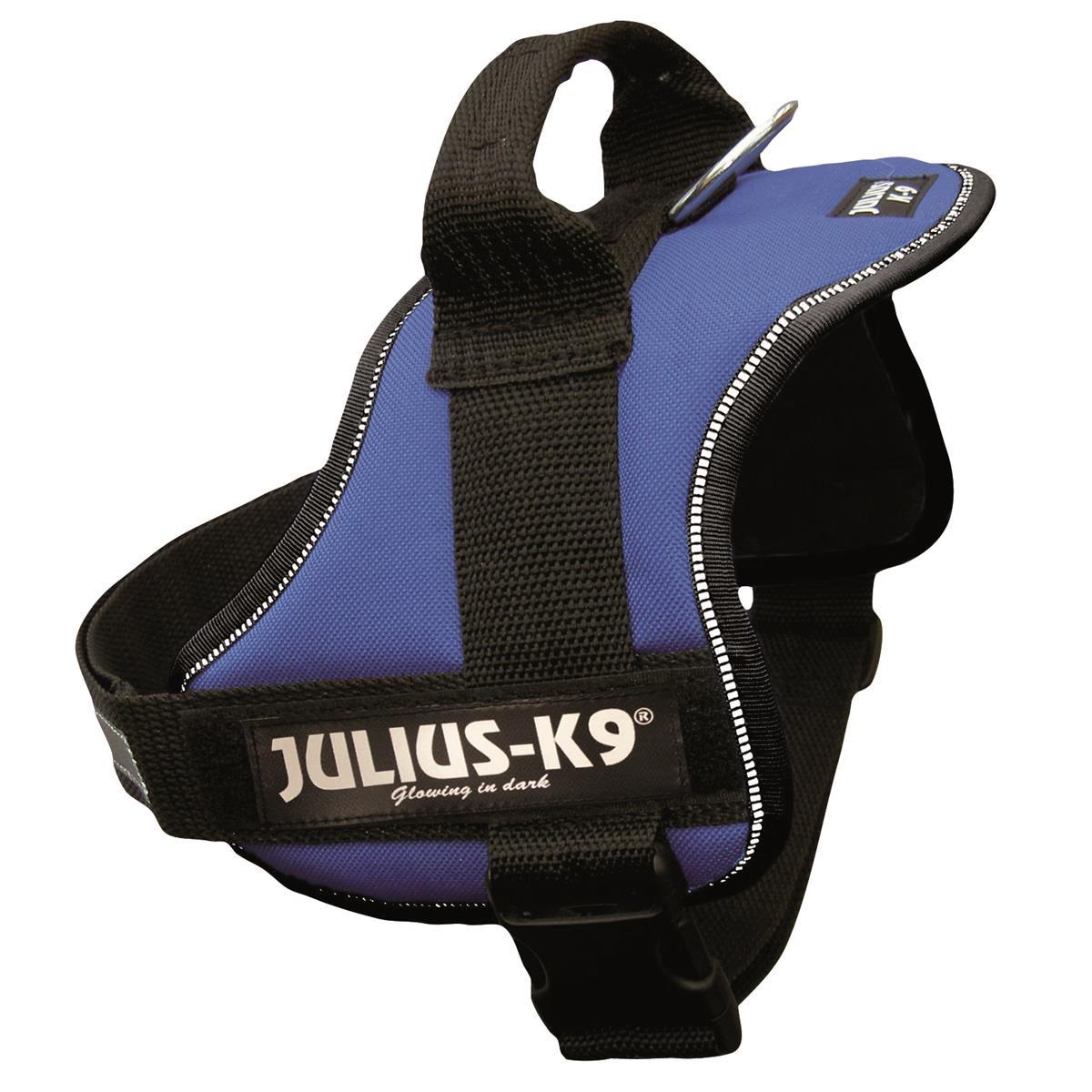 Julius-K9 Powergeschirr 0/M-L 58-76 cm blau Trixie 15032