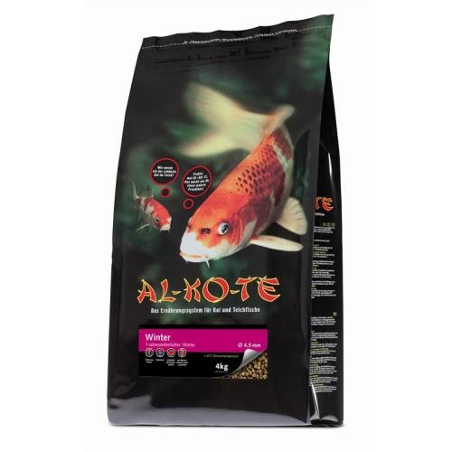 AL-KO-TE Koifutter Winter 4,5 mm 4 kg Winterfutter