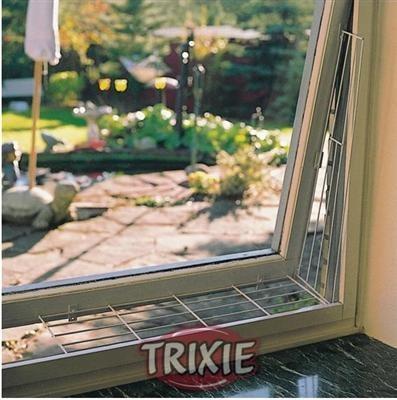 Trixie Schutzgitter für Katzen am Fenster - Seitenteil