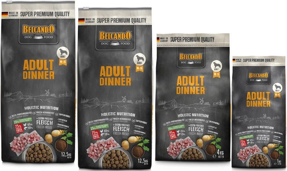 Belcando Adult Dinner 2 x 12,5kg + 4kg + 1kg extra