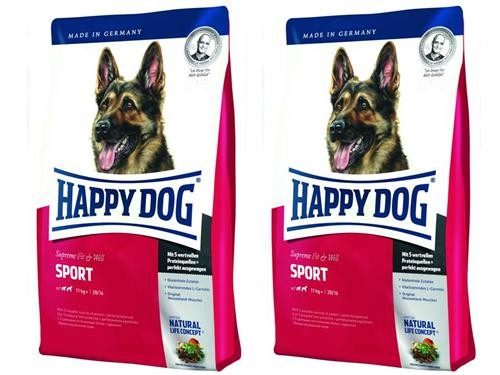 Happy Dog Supreme Fit & Well Sport 2 x 15 kg