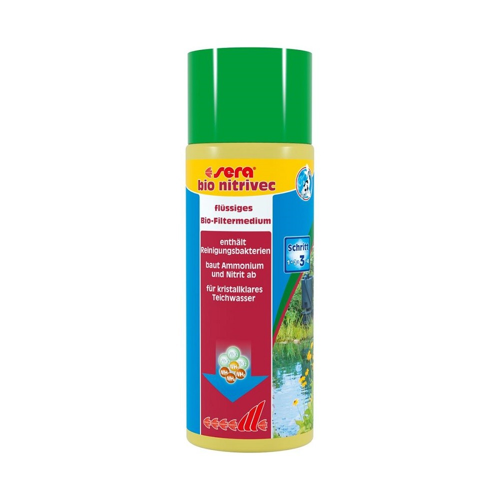 sera pond bio nitrivec 500 ml Wasseraufbereitung