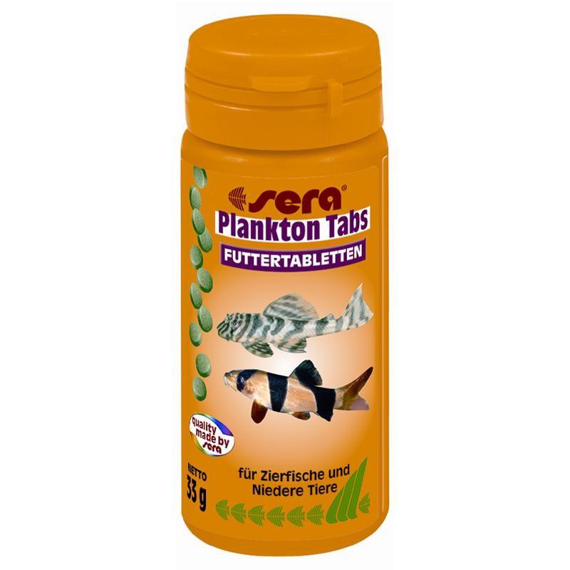 sera Plankton Tabs 50 ml Bodentabletten mit Plankton
