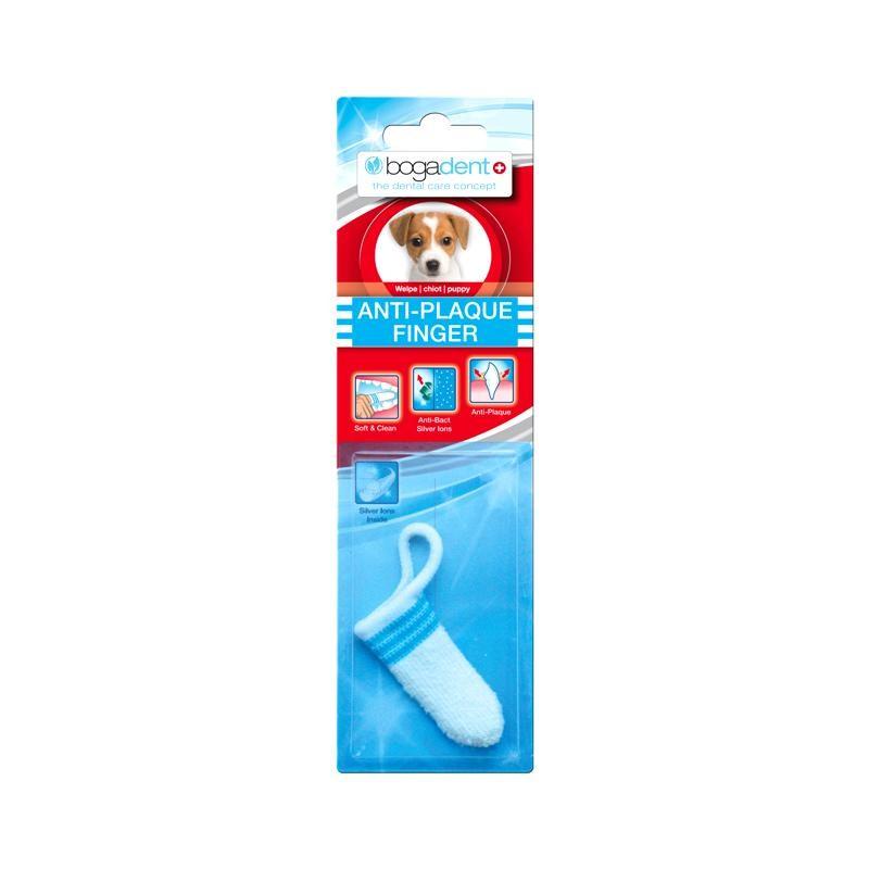 Bogadent Anti-Plaque Finger Welpe 1 Stück Zahnpflege Hund