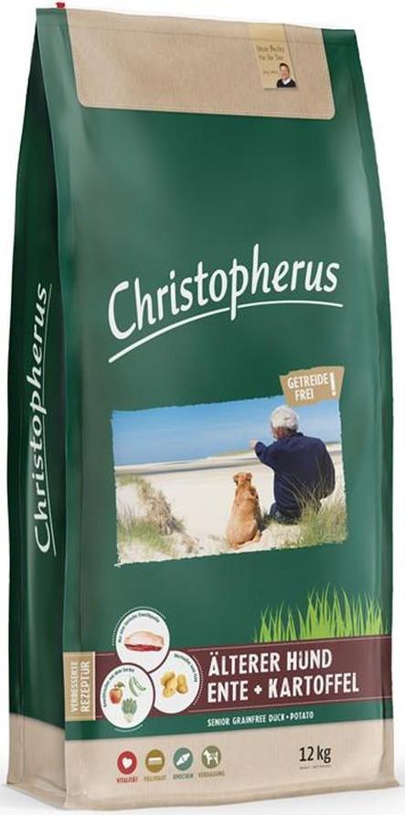 Christopherus Getreidefrei Senior Ente + Kartoffel 12 kg