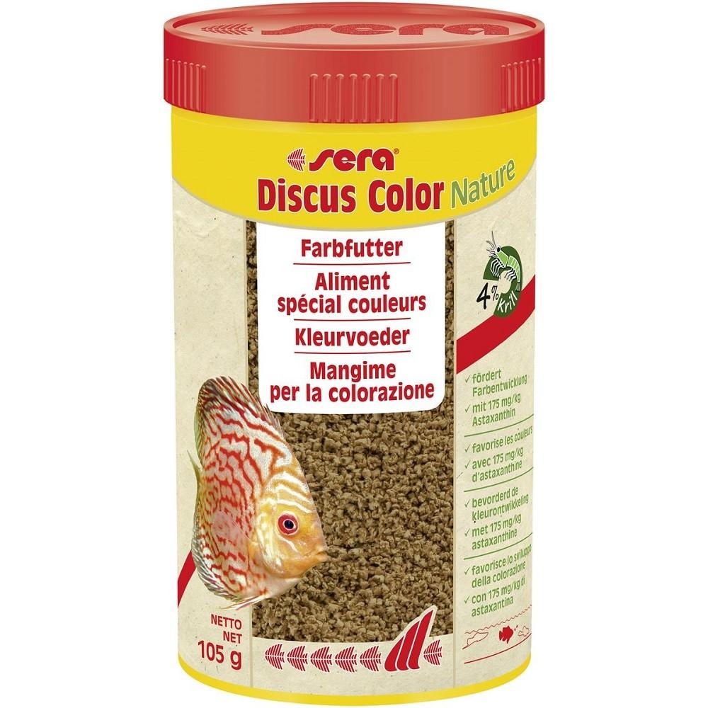 sera discus color Rot 250 ml Spezialgranulat für rote Diskus