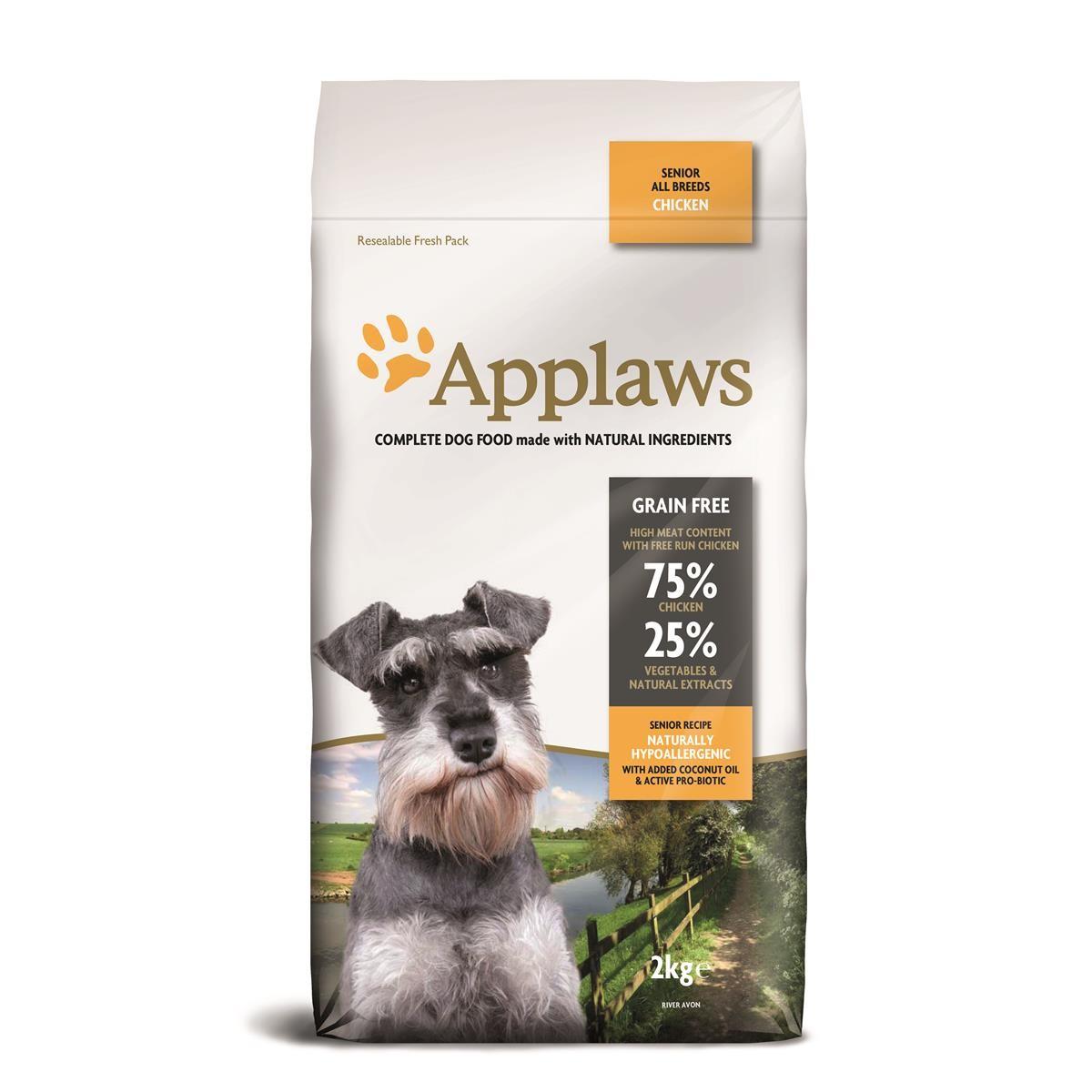 Applaws Senior mit Huhn 2 kg Hundefutter