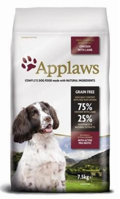 Applaws Dog Adult Small/Medium Breed Hühnchen 7,5kg