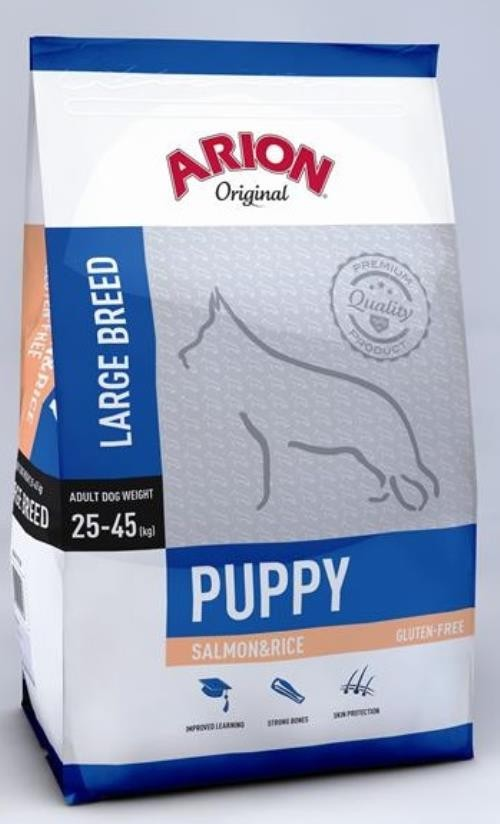 Arion Original Puppy large Salmon & Rice 12kg