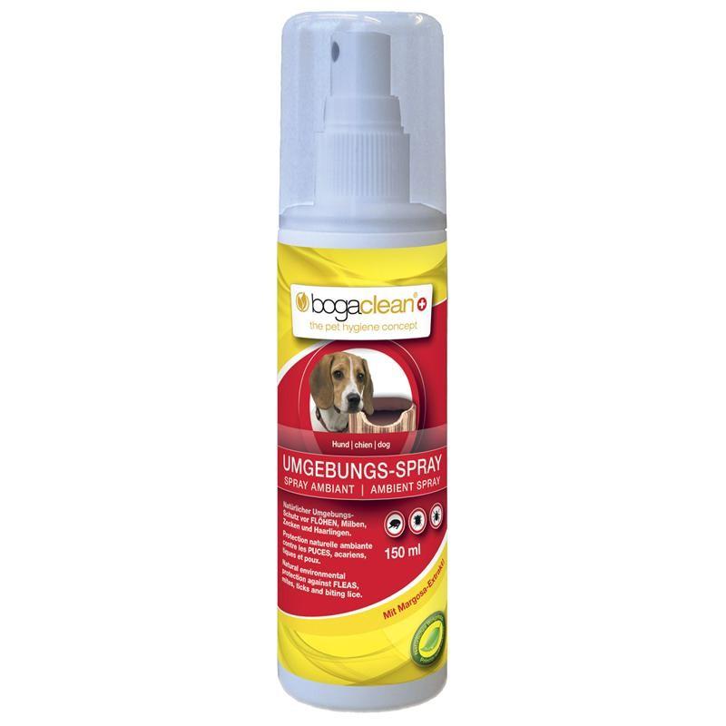 Bogaclean Umgebungs-Spray Hund 150ml gegen Flöhe, Milben, Zecken und Haarlinge