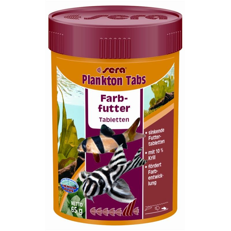 sera Plankton Tabs 100 ml Bodentablette mit Plankton