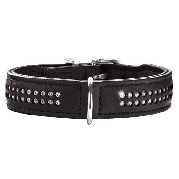 Hunter Halsband Diamond Petit schwarz/schwarz 27 cm