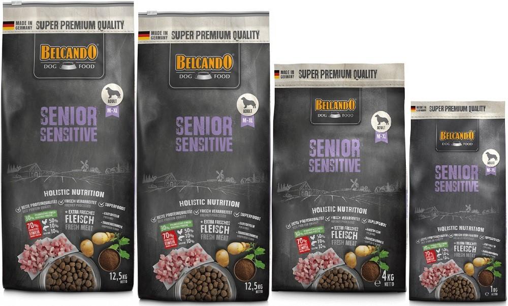 Belcando Senior Sensitive 2 x 12,5kg + 4kg + 1kg extra