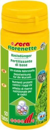 sera florenette 50 Tabletten Pflanzendünger