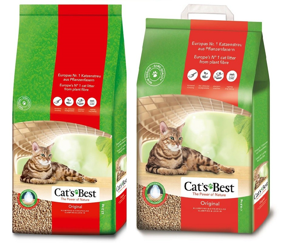 Cats Cat's Best Öko Plus 60 Liter Öko-Katzenstreu