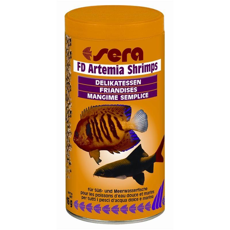 sera FD Artemia Shrimps 250 ml Fischfutterspezialität