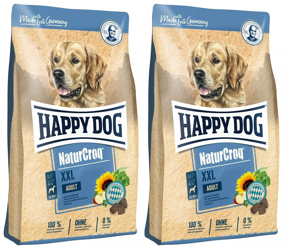 Happy Dog NaturCroq XXL 2 x 15 kg