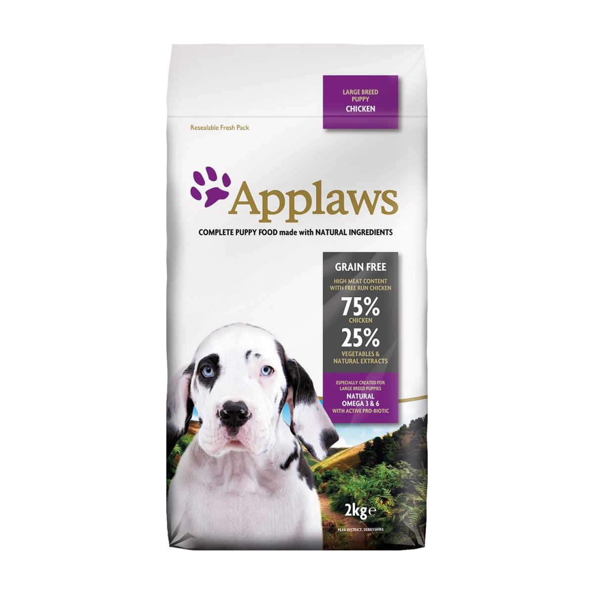 Applaws Large Breed Puppy mit Huhn 2 kg