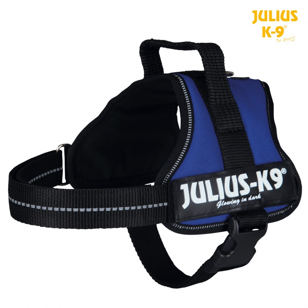Trixie Dog Julius-K9 Powergeschirr Mini/M 51-67cm blau 150202