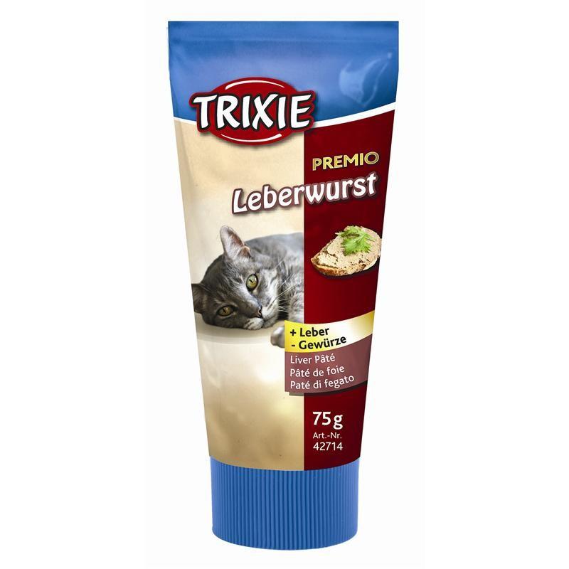 Trixie Premio Leberwurst 75g Katzensnack