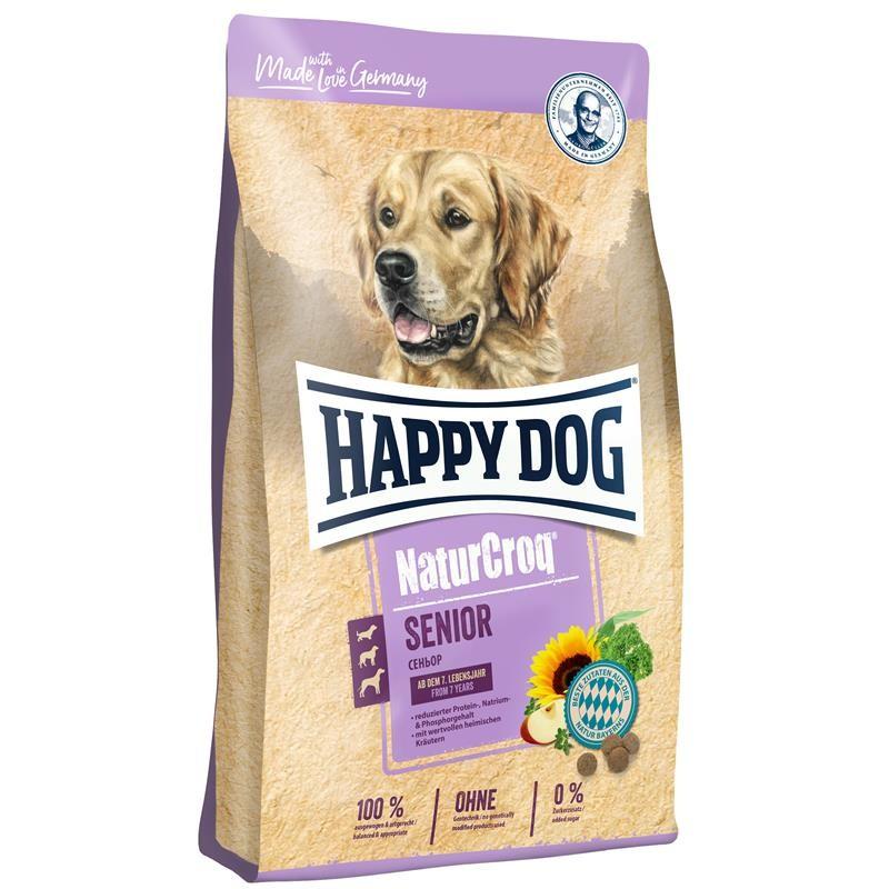 Happy Dog NaturCroq Senior 15 kg Hundefutter Natur Croq