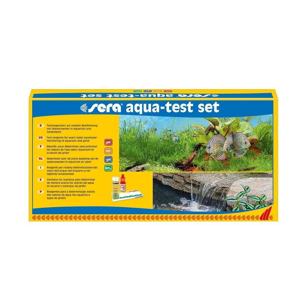sera aqua-test Set Wassertest Set