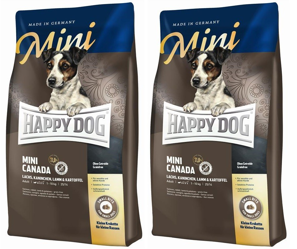 Happy Dog Supreme Mini Canada 2 x 4 kg getreidefrei