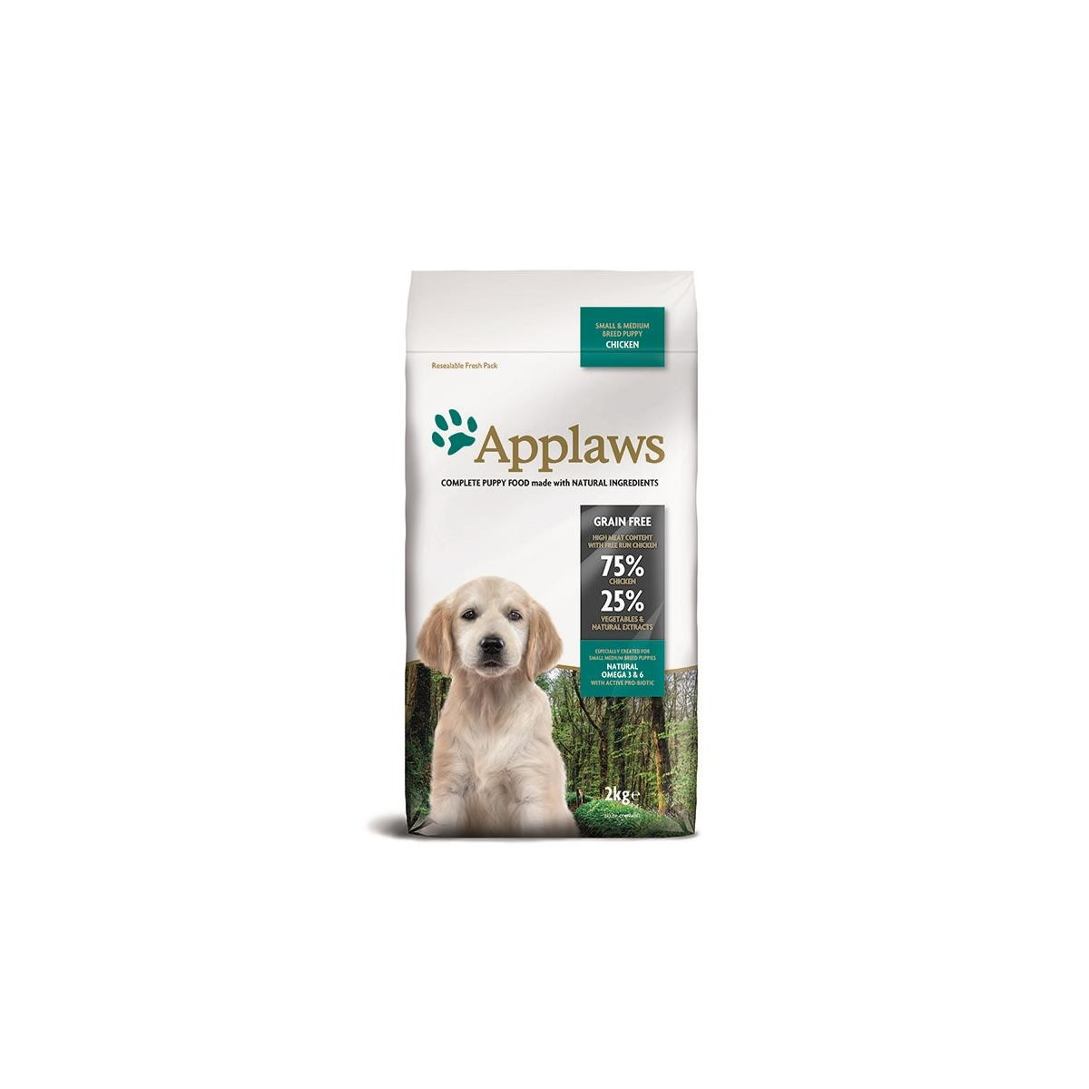 Applaws Puppy Small & Medium Breed mit Huhn 2 kg