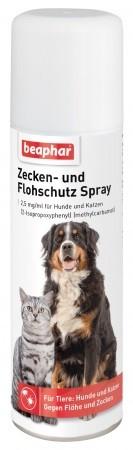 Beaphar Zecken- & Flohschutz-Spray Hund u. Katze 250ml