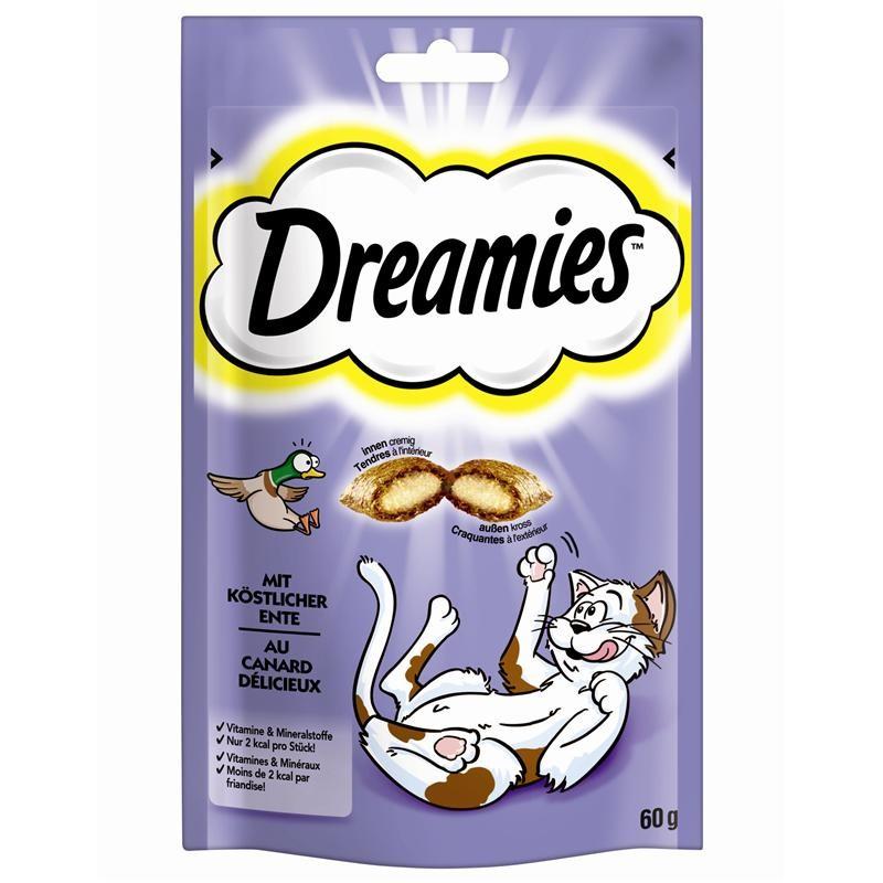 Dreamies Ente 6 x 60 g Katzensnack