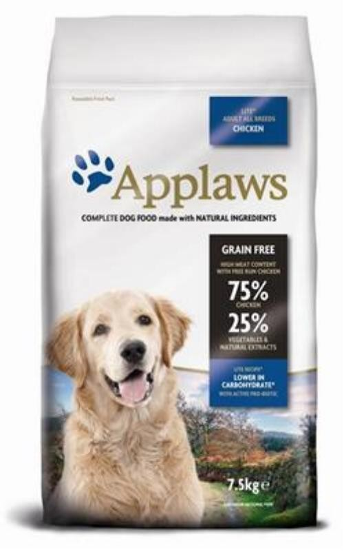 Applaws Dog Adult Lite Hühnchen 7,5kg