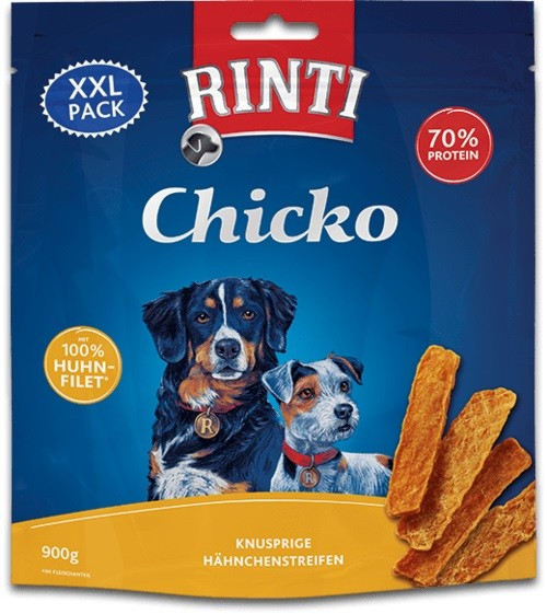 Rinti Extra Snack Chicko Huhn XXL-Pack 900g Hundesnack