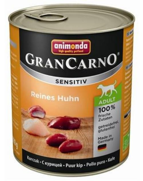 Animonda GranCarno Adult Sensitive Huhn pur 6 x 800g