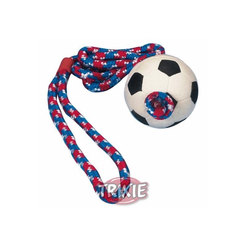 Fußball am Seil ø 6cm 1m Hundespielzeug Trixie 3307