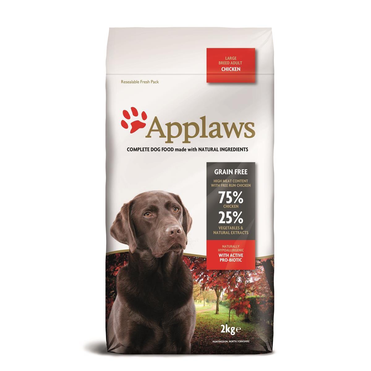 Applaws Adult Large Breed mit Huhn 2 kg