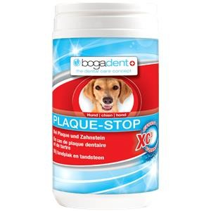 Bogadent Plaque Stop 70g Hund gegen Zahnbelag Zahnstein und schlechtem Atem