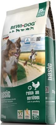 Bewi Dog Basic 25 kg + Agility Snack 300g