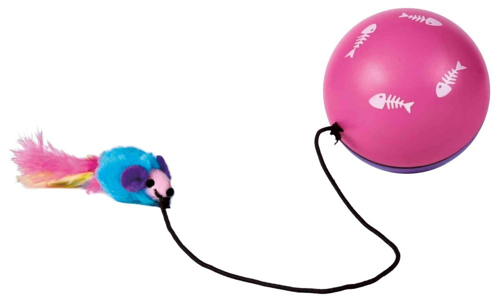 Trixie Turbinio Ball mit Motor ø 9 cm Katzenspielzeug