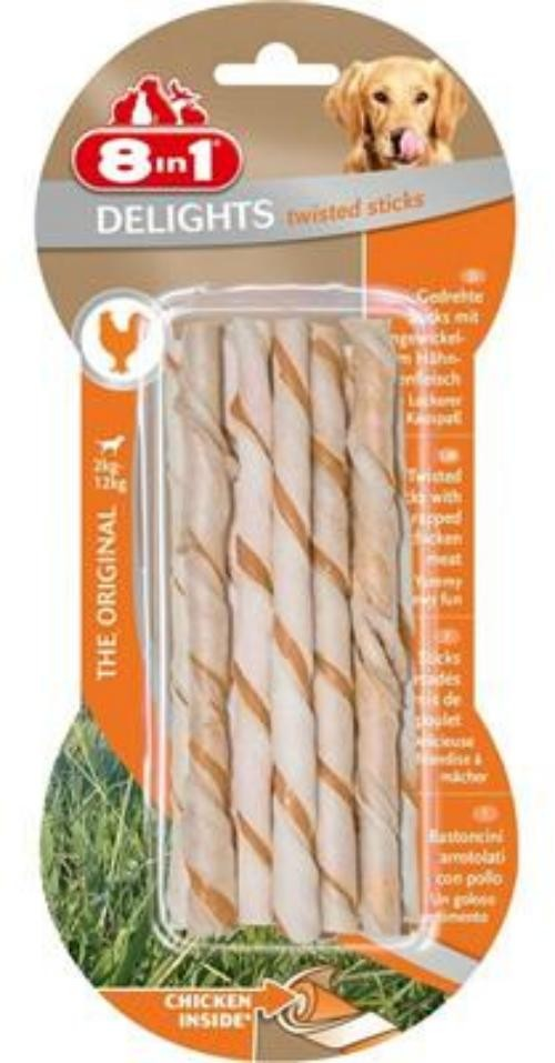 Tetra Dog 8in1 Delights Twisted Sticks 10 Stück