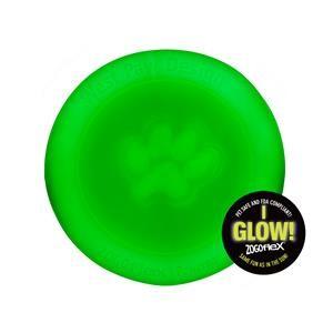 West Paw Mini Zisc Leuchtend Glow 16 cm Hundefrisbee Hundespielzeug
