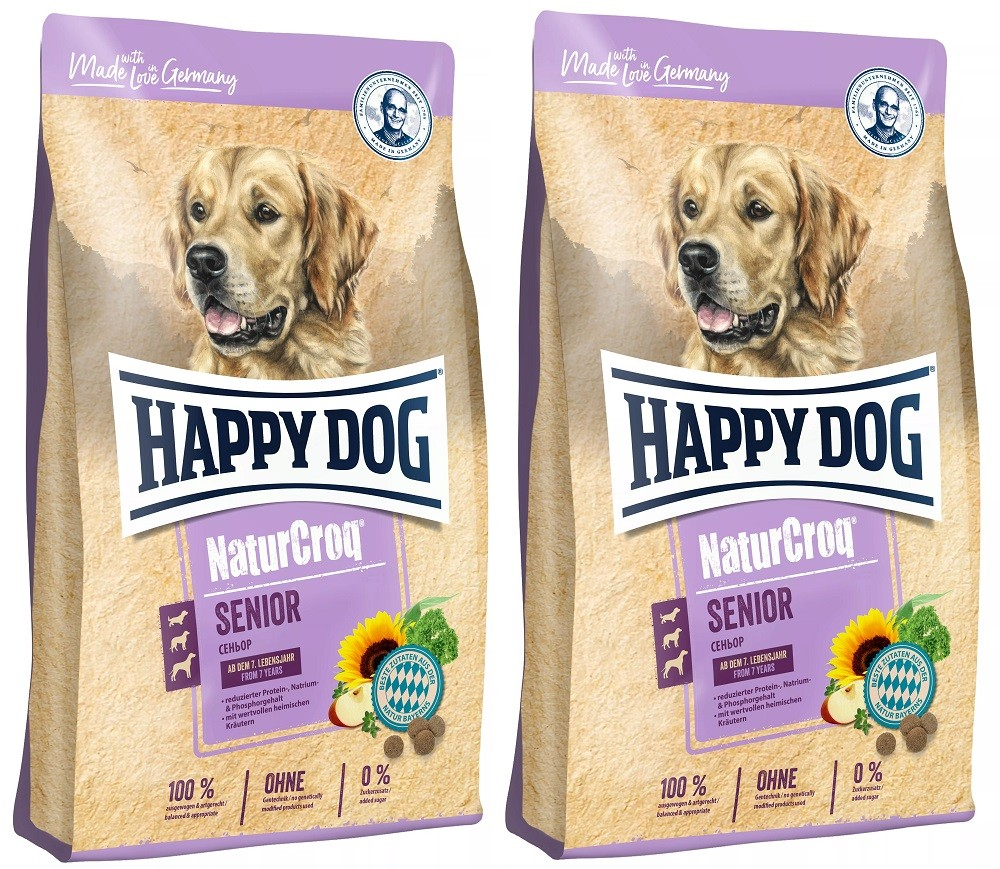 Happy Dog NaturCroq Senior 2 x15 kg